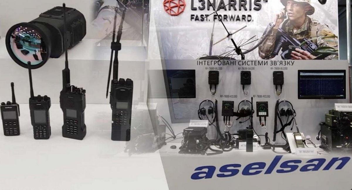 Advanced radio communication devices from Aselsan and L3Harris have been fielded by the thousands to Ukrainian forces in the field