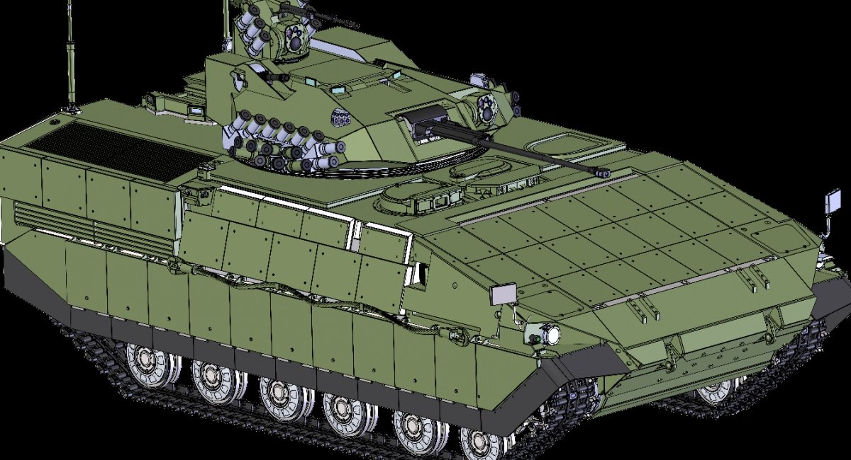 "Ukrainian Company Unveils Concept Design for Armored Fighting Vehicle Named ""Babylon"""