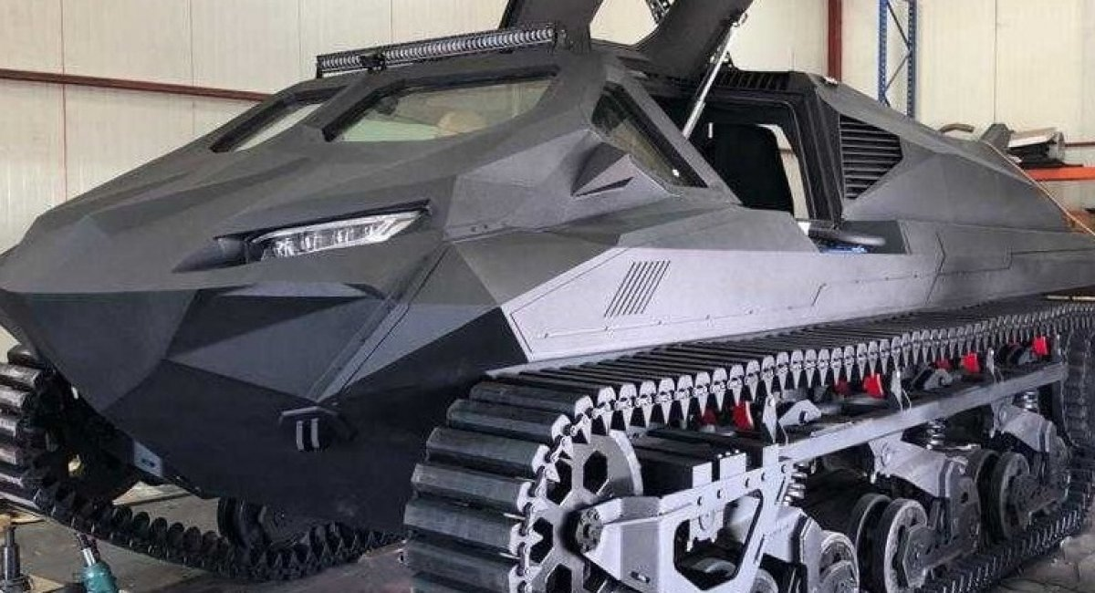Ukrainian Company Unveils its Storm Tracked Amphibious APC at IDEX 2021 (video)