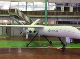 Ukraine's brand new combat UAV debuts at IDEX 2021