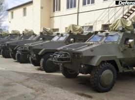 Ukrainian Army Takes Delivery of Another Shipment of Oncilla 4x4 L2014-UD APC Vehicles