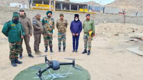 Ukrainian-Developed Drone Windhover Succeeds through Harsh Weather Test in Indian Himalayas